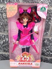 Cardcaptor Sakura barbie size  doll figure with wand stick Sealed NIB