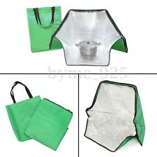 Portable Solar Oven Bag Cooker Sun Cooking for Camping Travel Outdoor Green