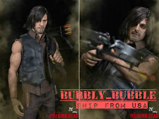 PRE-ORDER 1/6 DARYL DIXON Head Figure Crossbow Full Set For The Walking Dead