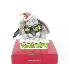 Disney Jim Shore 75TH Anniversary Dumbo Sugar Coated Sweet Snow Fall Christmas