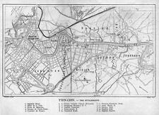Print. 1911-2. Map of Foreign Settlements in Tianjin, China