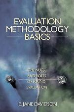 Evaluation Methodology Basics: The Nuts and Bolts of Sound Evaluation, , Good Bo