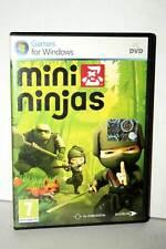 MINI NINJAS USATO OTTIMO STATO PC DVD ROM EDIZIONE ITALIANA PAL SPREA FR1 35392