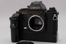 [Exc++++] Canon New F-1 Camera Body AE Finder w/Motor Drive From Japan #299