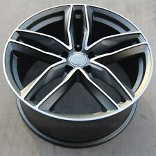(4) 20inch 20x9 5x112 Wheels Rims fit Audi S6 A5 A4 S4 A6 A7 S7 A8 RS7 RS4 RS6