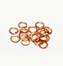 "Solid Copper Jump Ring (20 Ga.-.032"") 5 MM 1/2 Oz Pkg. Of 260 /Made in USA #CJR"
