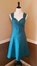 Modcloth Sweetheart S Rock Steady $89 Teal & Black Dress Pinup Rockabilly Retro