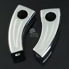 Chrome Handlebar Risers For Honda Shadow Spirit Aero VT750 Valkyrie Standard