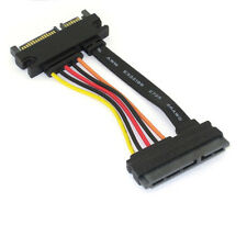 22 Pin Male to 22 Pin Female SATA III Extension Cable 3.35 Inches