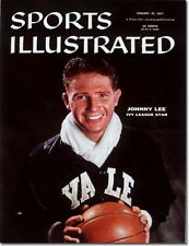 January 21, 1957 Johnny Lee Yale Bulldogs Sports Illustrated NO LABEL 1A