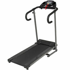 1100W Folding Electric Treadmill Portable Motorized Running Fitness Machine