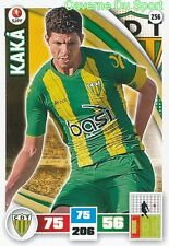 256 KAKA BRAZIL CD.TONDELA HERTHA.BSC CARD ADRENALYN LIGA 2016 PANINI