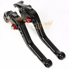 Motorcycle CNC Clutch Brake Levers For SUZUKI GSF600 BANDIT 1995-1999 Black