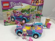 Lego Friends 3183 Stephanie's Cool Convertible With Instruction Book