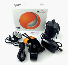 MagicShine MJ880 XM-L2 Version 2000LM LED Bike Light 6.6Ah Battery headstrap kit