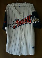 Rare Vintage 90s Russell Diamond Los Angeles Angels Anaheim Jersey 52 2XL Disney