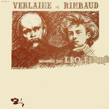 VERLAINE Et RIMBAUD Chantés par LEO FERRE FR Press Barclay 80 236/37 2 LP
