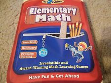 COSMI OFF2SCHOOL ELEMENTARY MATH SOFTWARE CD WITH ORIGINAL PACKAGING AGES 5-11