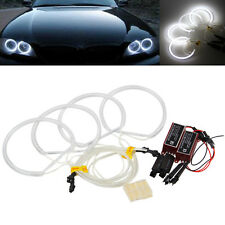 4Pcs CCFL Angel Eyes Halo Ring Kit for BMW E36 3 E38 7 E39 5 E46 M3 White 6000k