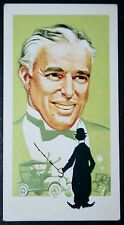 Charlie Chaplin   Silent Movie Star     Vintage Card # VGC