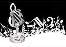 TRASMISSIONE radiofonica 3.5 mm mini microfono per PC social media 1930/40 stile