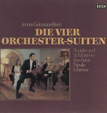 Bach - Die vier Orchester-Suiten / Marriner & Academy St.Martin 2 LP Box Set