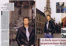 Coupure de presse Clipping 2002 David Charvet  (3 pages)