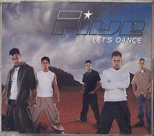 FIVE - Let's dance - CD SINGLE 2001 USATO OTTIME CONDIZIONI