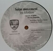 "Solar Movement ""In Motion / Progression"" * SomaticVision004"