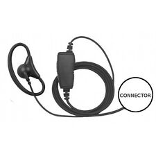 1-Wire D-Ring Adjustable Earpiece Mic for HYT TC-610P 700P 780 780P 780M Radios