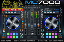 Denon MC7000 4-Channel DJ Controller w/ Digital Mixer & Dual USB w/ Serato DJ