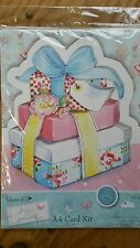 A4 Card Kit, Card Making, Scrapbooking And Craft.