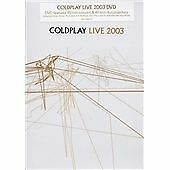 Coldplay - Live 2003  DVD 2 Disc Set
