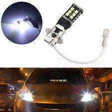 12V 16W H3 15SMD Canbus High Power For Fog Driving DRL LED Light Bulb Lamp White