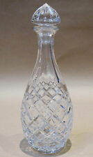 LOVELY VINTAGE CUT CRYSTAL DECANTER