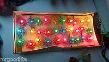 Vintage 30 Light ITALY Christmas Light Set - Original Box