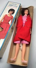 Vintage 60s Judy LITTLECHAP JACKIE O LIKE DOLL in Box AS-IS GREAT GRAPHICS