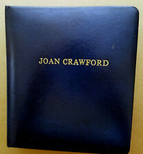 RARE JOAN CRAWFORD 164 TOTAL SIGNED LETTERS IN BOUND BOOK AUTOGRAPHED INCREDIBLE
