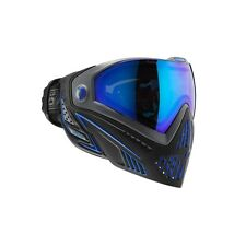 New Dye I5 Thermal Paintball Goggle Goggles Mask - Storm Black / Blue