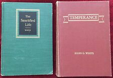 Ellen G White Duo: The Desire of Ages ~ Christ's Object Lessons SDA EGW Books