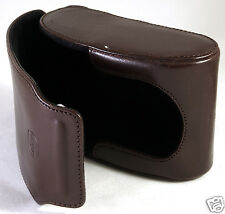 LEICA V-LUX 20 Brown Leather Case Pouch Compact Genuine Original 18700 EXCELLENT