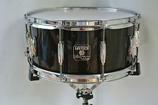 "GRETSCH 14"" CATALINA CLUB TRANSLUCENT EBONY SNARE DRUM for YOUR DRUM SET! #V79"