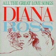Diana Ross All the great love songs (1984, orange Motown) [CD]