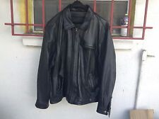 AMERICAN CLASSICS FAUX LEATHER BLACK MEN'S JACKETS SIZE XL NEEDS REPAIRS