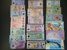 Lot 20Pcs Different Polymer Banknotes,High Quality Nice Collection Uncirculated