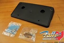 2013-2017 Dodge Ram 1500 Front License Plate Mounting Bracket Holder Mopar OEM