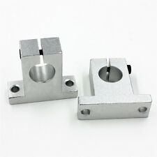 2stk. Neu SK16 16mm Linear Rail Shaft Guide Support CNC