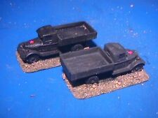 Flames of War Painted Russian Zis 5 Turcks (2x Trucks)