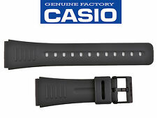 CASIO WATCH BAND STRAP CMD-40 DBC-30 DBC-63 DBM-150 DBX-103 original 22mm BLACK