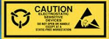ESD 2.5x1 CAUTION Electrostatic Sensitive Devices Anti Static Warning 500 Labels
